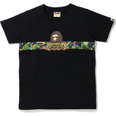 ABC FLOWER TAPE APE HEAD TEE LADIES
