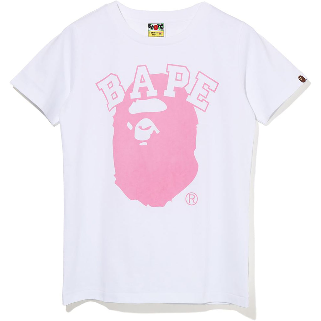 PIGMENT BICOLOR BAPE APE HEAD TEE LADIES