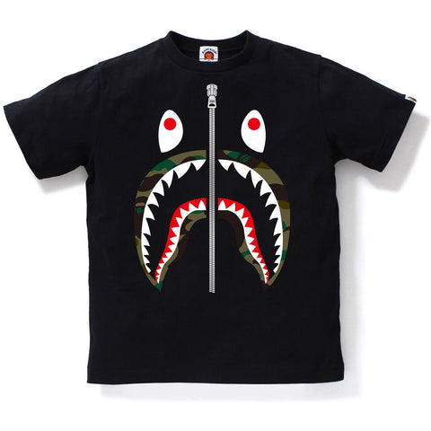 1ST CAMO SHARK TEE JR KIDS