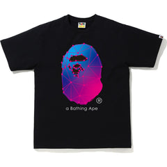 A BATHING APE SPIDER WEB TEE MENS