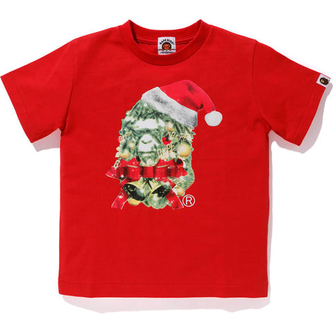 CHRISTMAS APE HEAD TEE KIDS