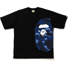 COLOR CAMO SIDE BIG APE HEAD RELAXED TEE MENS
