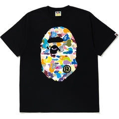MULTI CAMO BIG APE HEAD TEE MENS