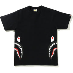 GLITTER SIDE SHARK TEE MENS