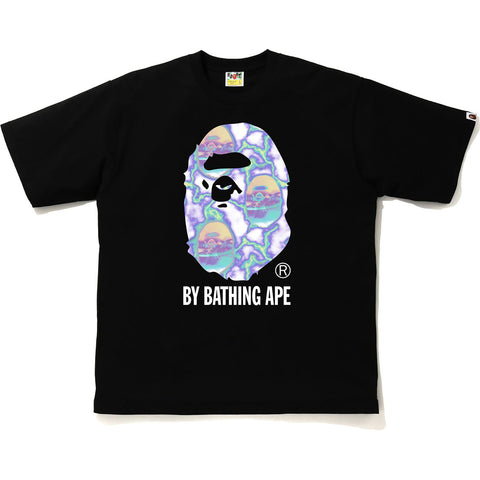 BAPE LIGHTNING BY BATHING RELAXED TEE MENS