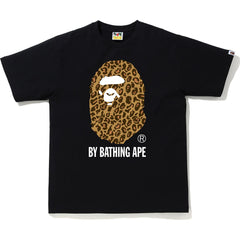 BAPE LEOPARD BY BATHING APE TEE MENS