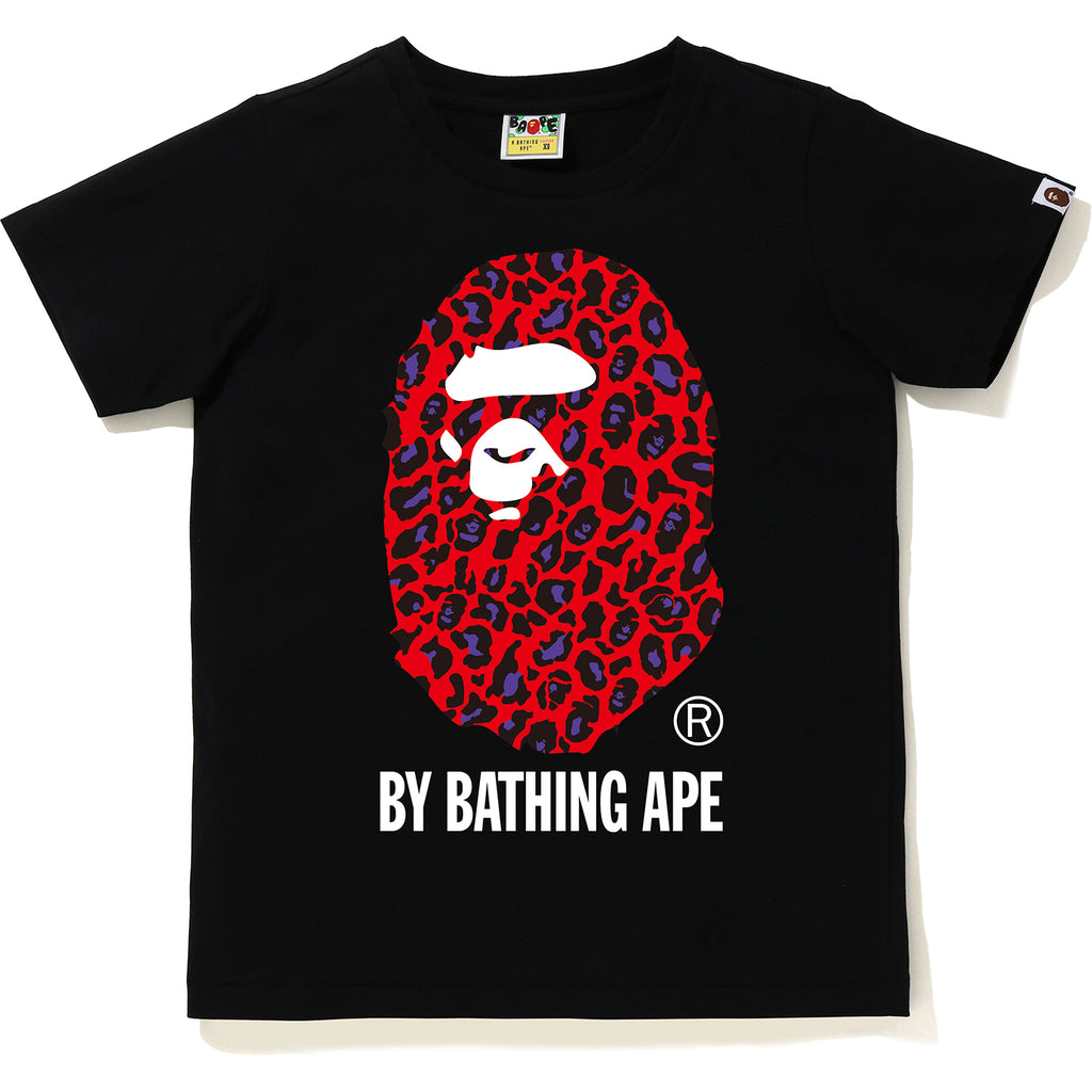 BAPE LEOPARD BY BATHING APE TEE LADIES