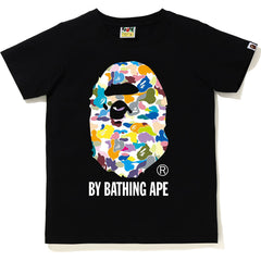 MULTI CAMO BY BATHING APE TEE LADIES