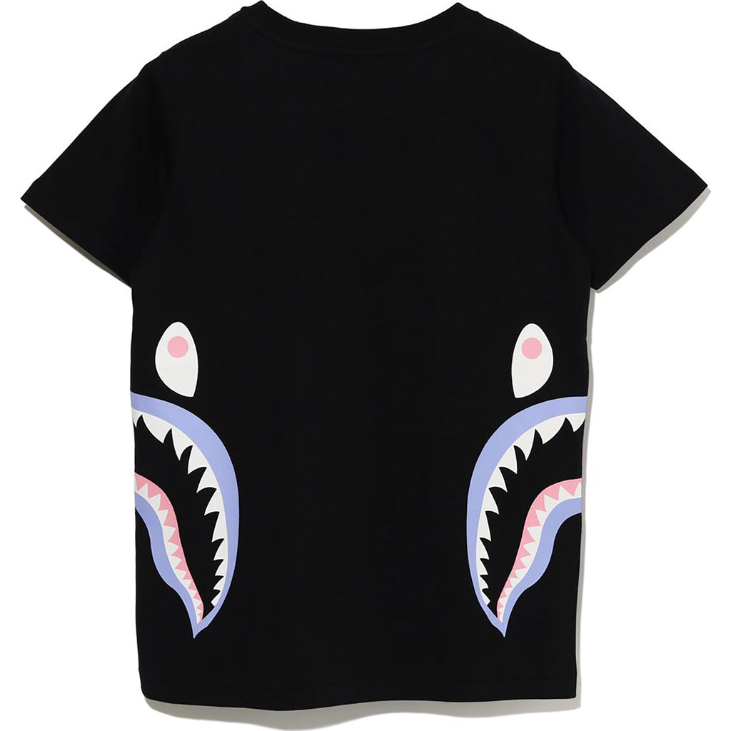 COLORS SIDE SHARK TEE LADIES