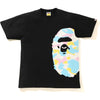 NEW MULTI CAMO SIDE BIG APE HEAD TEE MENS