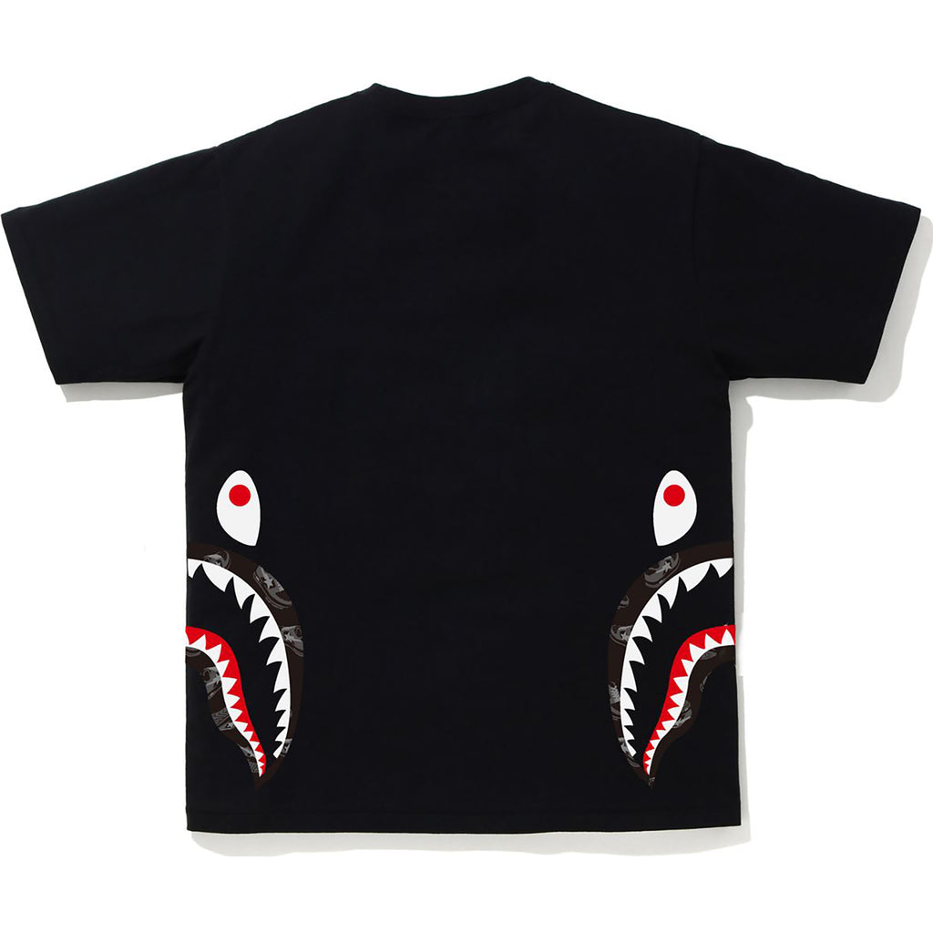 RANDOM BAPE STA SIDE SHARK TEE MENS