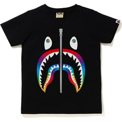 RAINBOW SHARK TEE LADIES