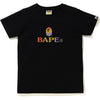 COLORFUL BAPE LOGO TEE LADIES