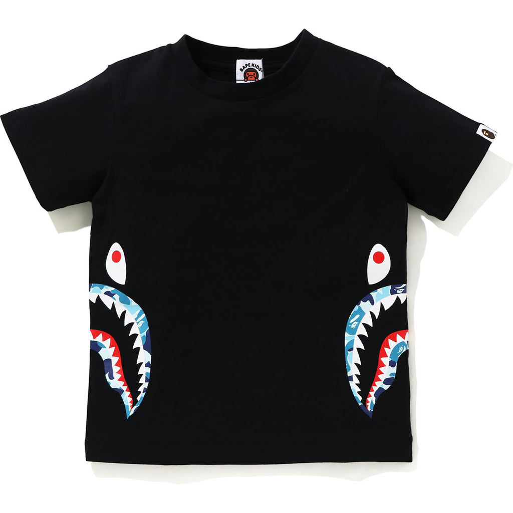 ABC CAMO SIDE SHARK TEE KIDS