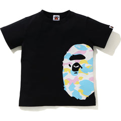 NEW MULTI CAMO SIDE BIG APE HEAD TEE KIDS