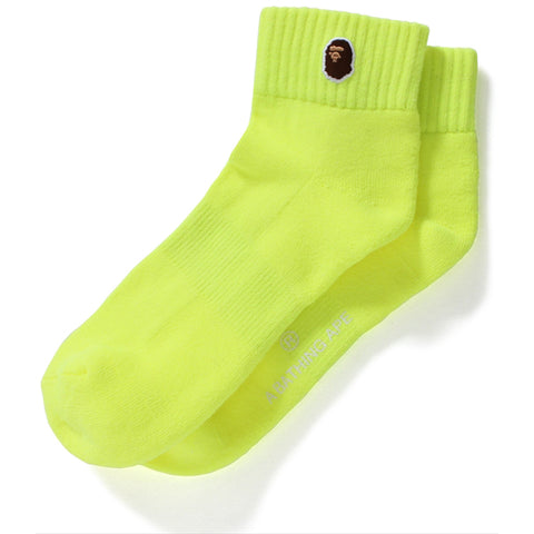 NEON COLOR ANKLE SOCKS