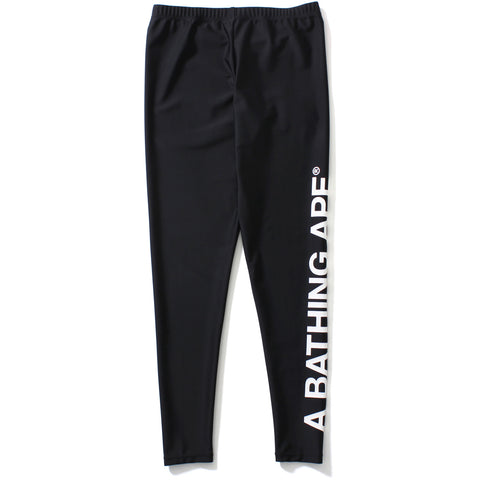 A BATHING APE LEGGINGS LADIES