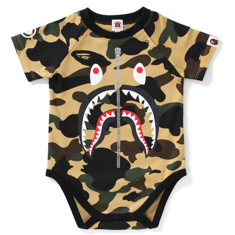 1ST CAMO SHARK BODY SUIT KB KIDS