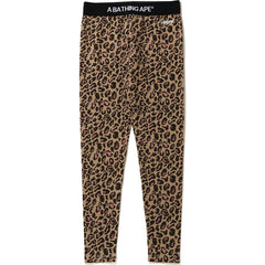 LEOPARD LEGGINGS LADIES