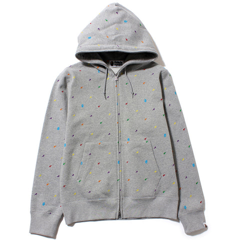 APE AND STA FULL ZIP HOODIE