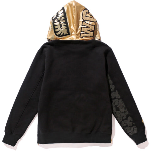 BAPE® BLACK SHARK FULL ZIP HOODIE