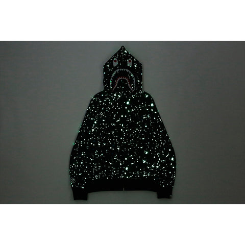 SPACE CAMO SHARK FULL ZIP HOODIE