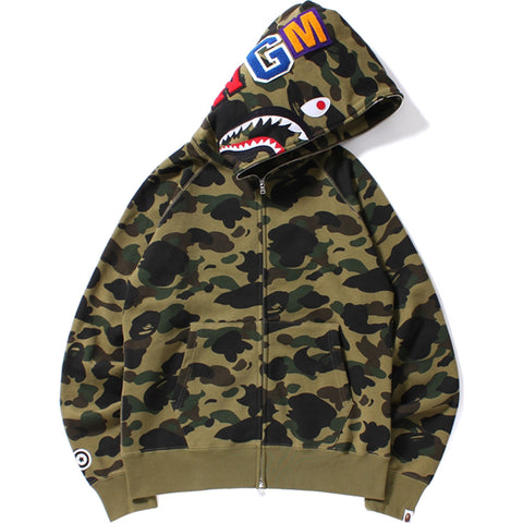 1ST CAMO SHARK FULL ZIP