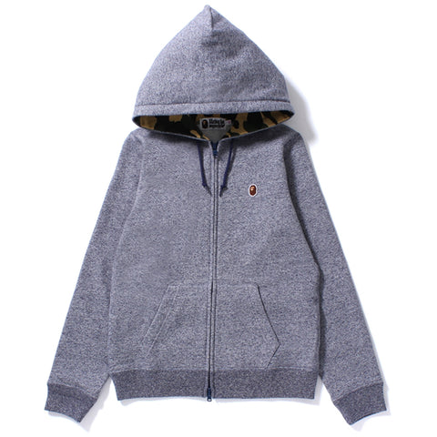 APE HEAD ONE POINT ZIP HOODIE /AP