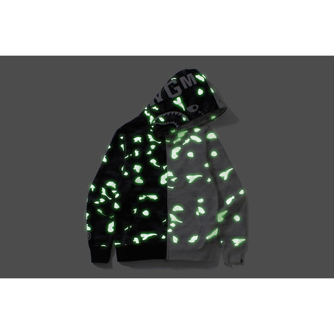 CITY CAMO SHARK FULL ZIP HOODIE