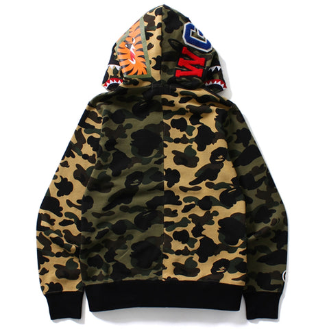1ST CAMO CRAZY SHARK FULL ZIP