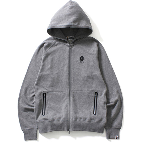 WATER REPELLENT RAGLAN FULL ZIP HOODIE
