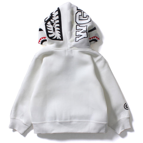 CITY CAMO SHARK FULL ZIP HOODIE /K