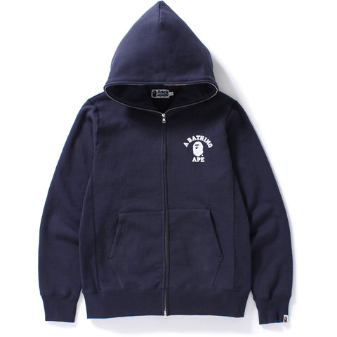 COLLEGE HEAVY WEIGHT FULL ZIP HOODIE