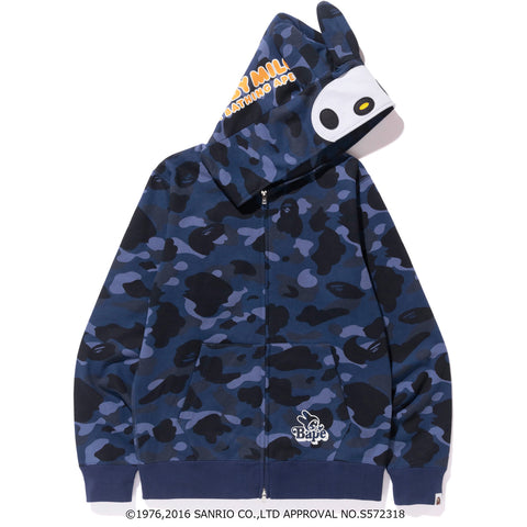MY MELODY COLOR CAMO ZIP HOODIE