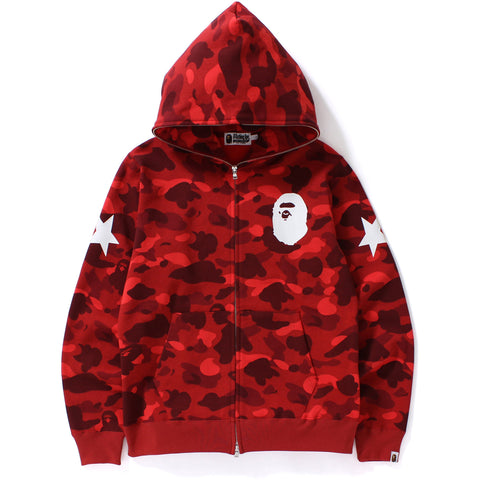 COLOR CAMO FULL ZIP HOODIE M