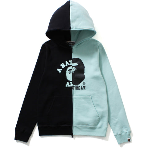 COLLEGE X BY BATHING FULL ZIP HOODIE LADIES