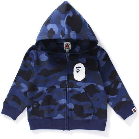 COLOR CAMO APE HEAD ZIP HOODIE KIDS