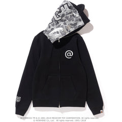 SHARK BE@R FULL ZIP HOODIE L(MEDICOMTOY) LADIES