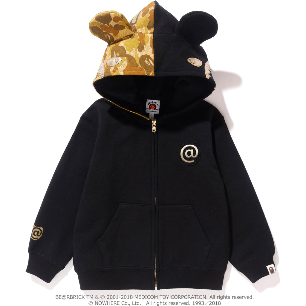 614e4074 SHARK BE@R FULL ZIP HOODIE K (MEDICOMTOY) KIDS | us.bape.com