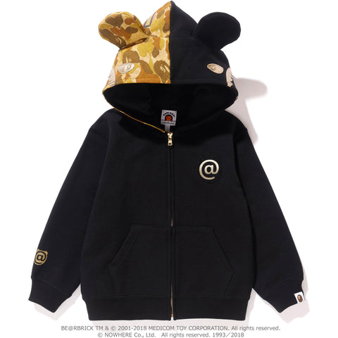 SHARK BE@R FULL ZIP HOODIE K (MEDICOMTOY) KIDS