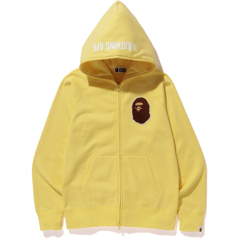 APE HEAD ONE POINT FULL ZIP HOODIE MENS