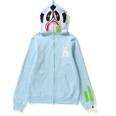 PANDA FULL ZIP HOODIE LADIES