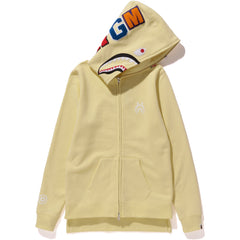 SHARK LONG FULL ZIP HOODIE LADIES