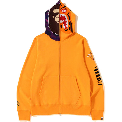 2ND APE TIGER FULL ZIP HOODIE MENS