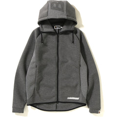 DOUBLE KNIT ZIP HOODIE MENS