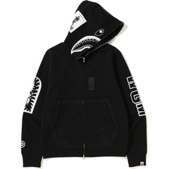 MILITARY SHARK FULL ZIP HOODIE MENS