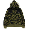 1ST CAMO PATCHED WIDE FULL ZIP HOODIE MENS