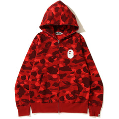NEW Sold Out COLOR CAMO FULL ZIP HOODIE MENS