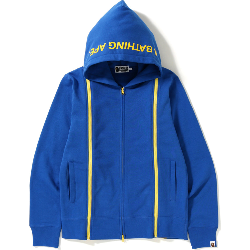 WIDE ZIP FULL ZIP HOODIE MENS