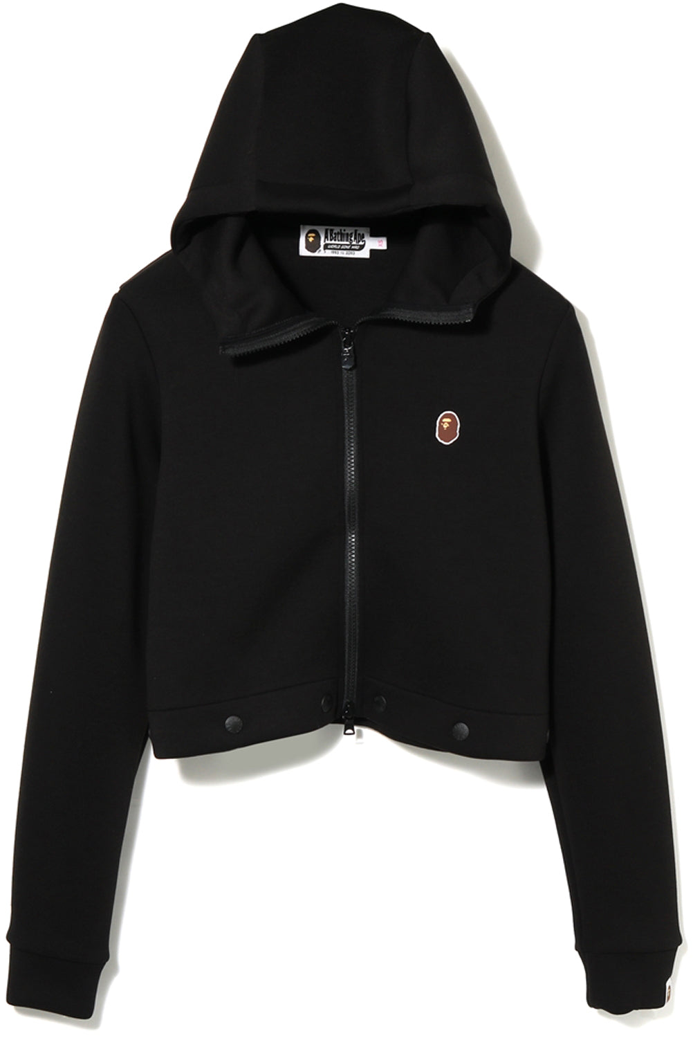 APE HEAD ONEPOINT 2WAY ZIP HOODIE LADIES
